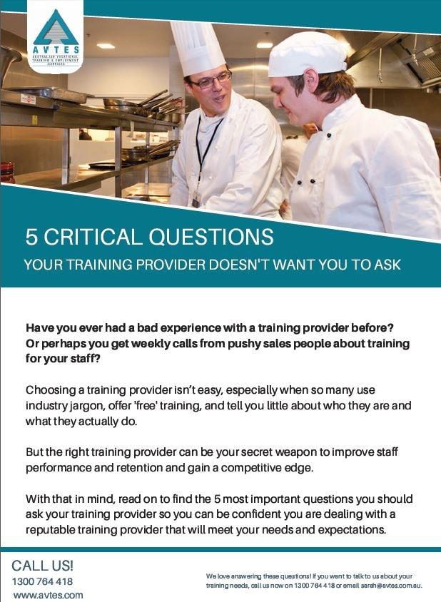 Australian Vocational Training & Employment Services