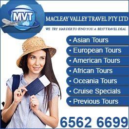 Macleay travel