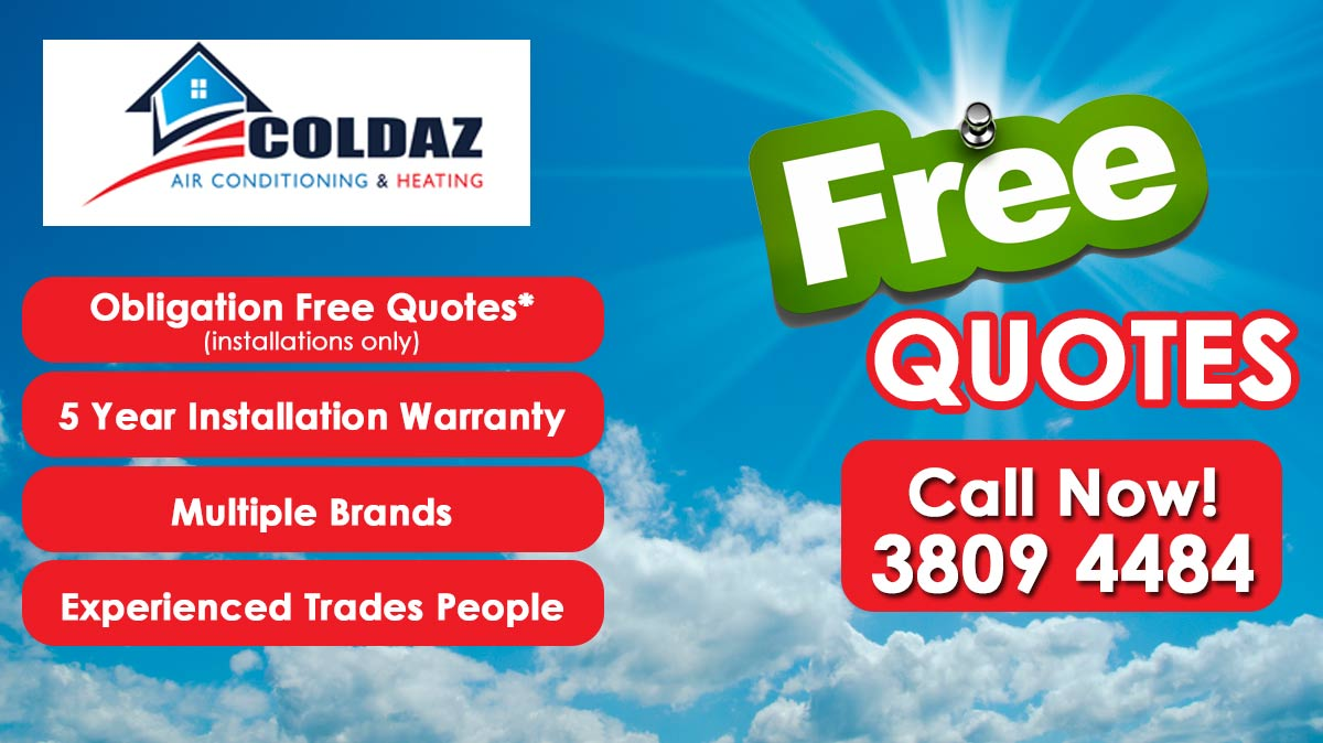 coldaz airconditioning & heating - home air conditioning - unit 2