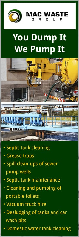 Mac Waste Group - Septic Tank Cleaning - MORWELL