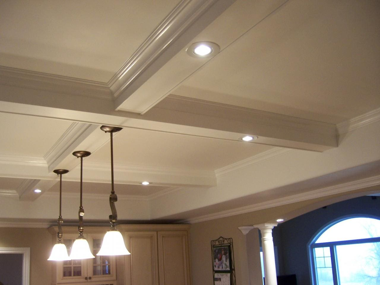 how to fix a gyprock ceiling
