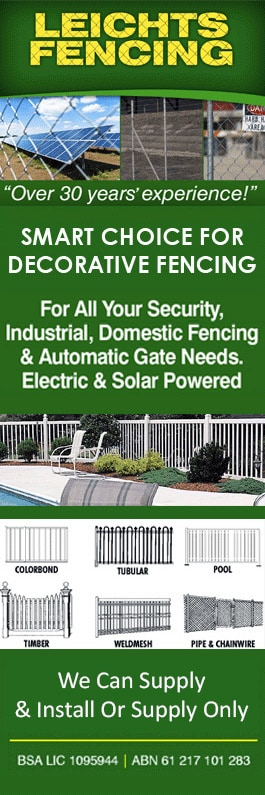 Leichts Fencing - Fencing Contractors - Toowoomba