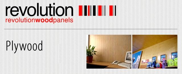 Revolution Wood Panels - Plywood & Veneers - 89 South Pine
