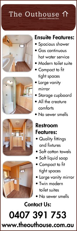 Ensuite Bathroom Hire the outhouse portable bathroom hire - portable toilets - 17