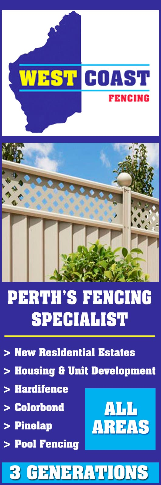 West Coast Fencing Fencing Contractors Bull Creek