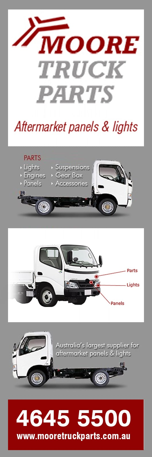 Moore Truck Parts - Truck Parts - WETHERILL PARK