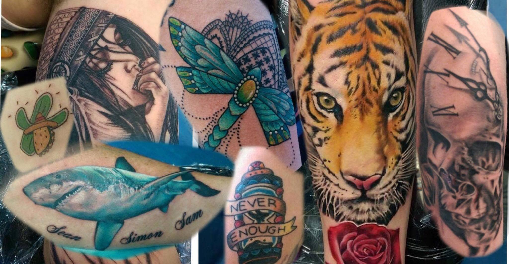 The marked heart tattooist tattoo shop 6 203 york for Tattoo stuff for sale