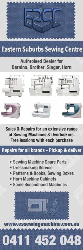 Eastern Suburbs Sewing Machine Centre - Sewing Machine Repairs