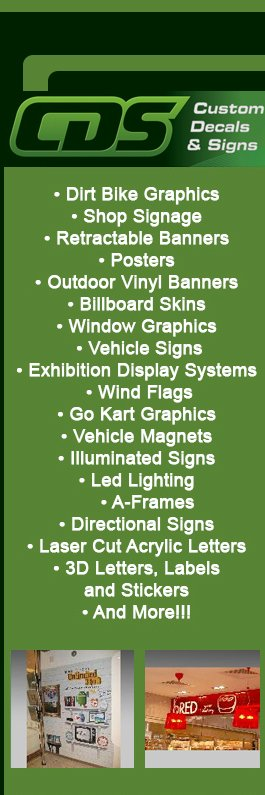 Custom Decals Signs Signwriters BRISBANE - Custom vinyl decals brisbane