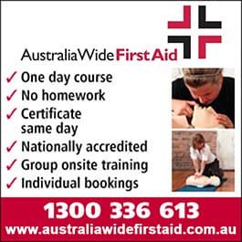 australia wide first aid training \u0026 supplies first aid kits