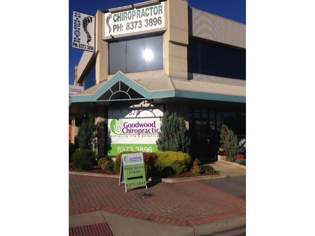 Goodwood Chiropractic On 378 Goodwood Rd Cumberland Park