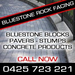 bluestone rock facing concrete products 4 birdwood ave norlane