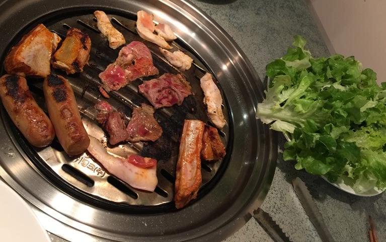 great river korean bbq restaurant restaurants 103. Black Bedroom Furniture Sets. Home Design Ideas