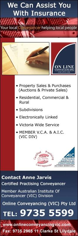 Online Conveyancing (VIC) Pty Ltd - Conveyancer