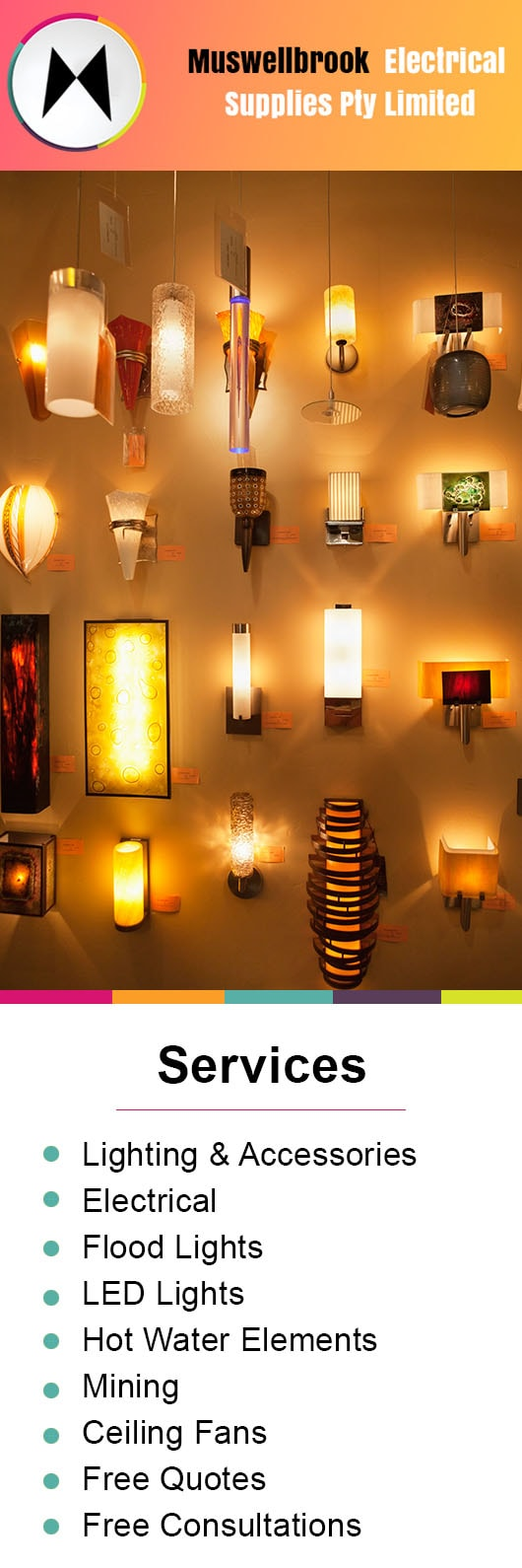 Muswellbrook Electrical Supplies Pty Limited Lighting