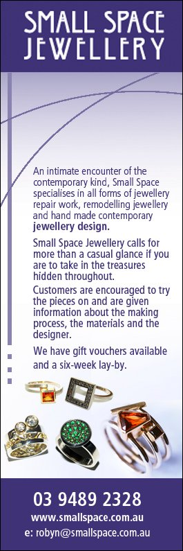 Small Space Jewellery - Jewellery Designers - 365A St Georges Rd ...