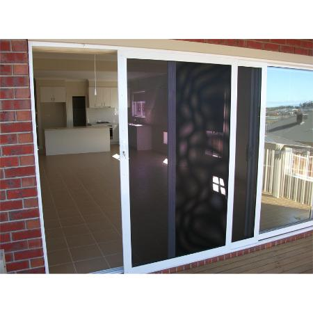 ... Clearshield Perforated Stainless Steel Security sliding doors ...