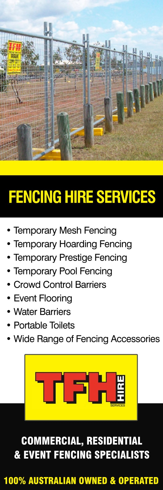 Tfh Hire Services Builders Amp Contractors Equipment Hire