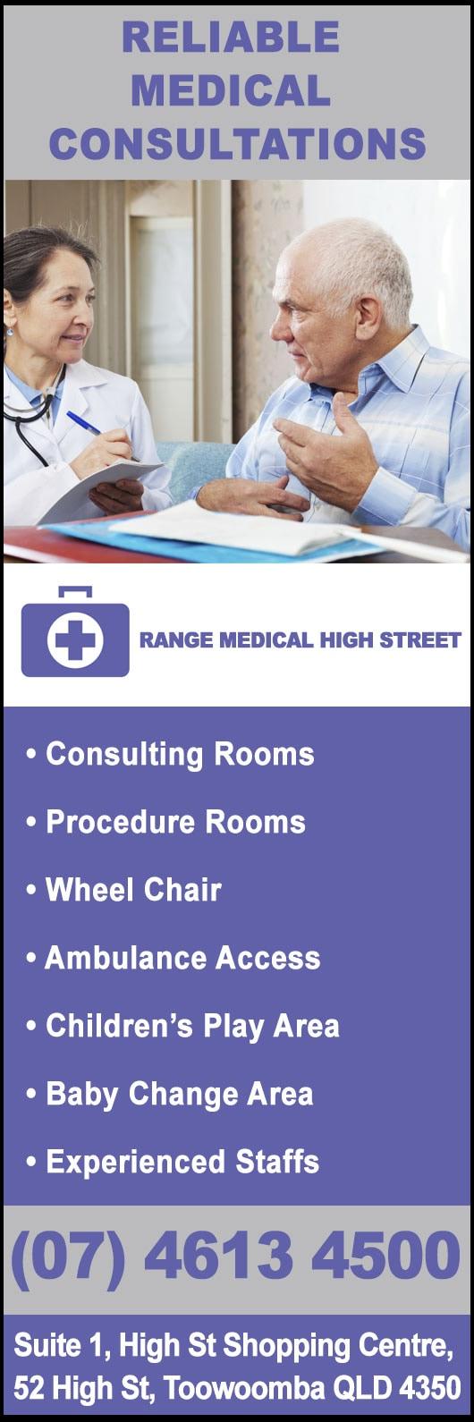 The Range Medical Centre - Medical Centres - Range Medical