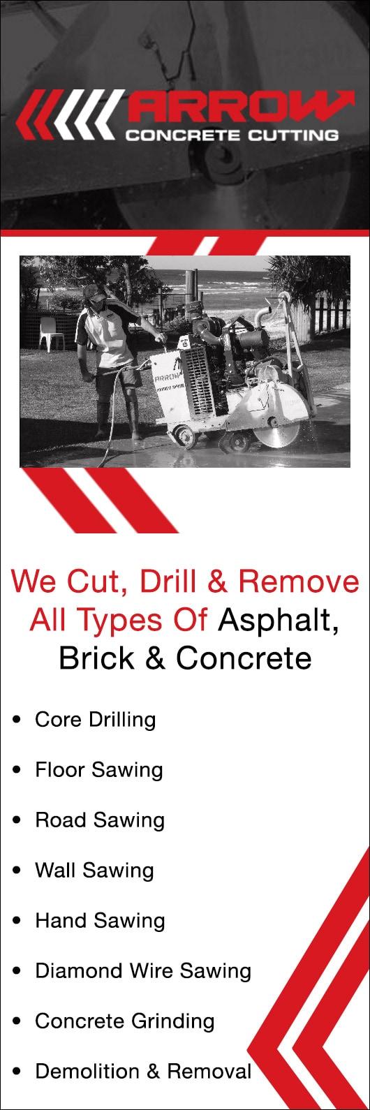 Arrow Concrete Cutting - Concrete Cutting, Grinding & Drilling - BALLINA