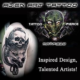 Alien Art Tattooing Piercing Tattooist Tattoo Shop 1 129