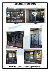 Commercial Hinged Doors  sc 1 st  Yellow Pages & Westview Glass \u0026 Aluminium Pty Ltd - Doors \u0026 Door Fittings - FREMANTLE