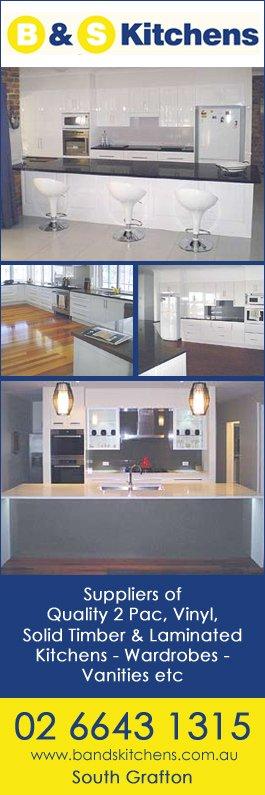 B S Kitchens Kitchen Renovations Designs 32 Hyde St South Grafton