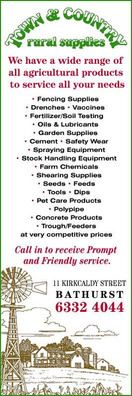 Town & Country Rural Supplies - Farm Supplies & Farming Equipment