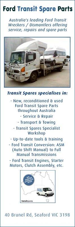 Transit Spares Promotion