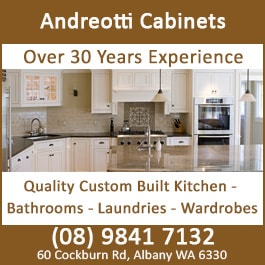 Andreotti Cabinets Cabinet Makers Designers 60 Cockburn Rd