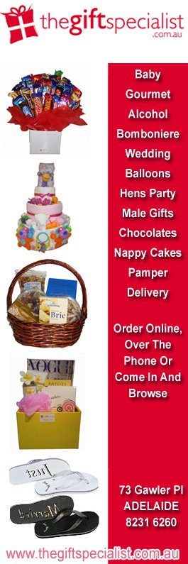 The gift specialist gift baskets hampers 73 gawler pl adelaide the gift specialist promotion negle Gallery