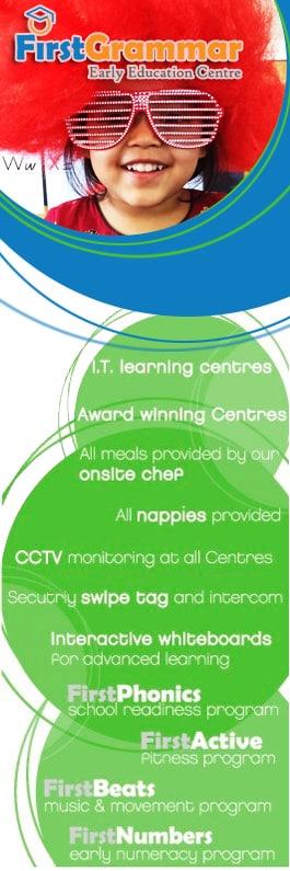 First grammar bankstown child care centres 108 edgar st bankstown for Indoor swimming pool bankstown