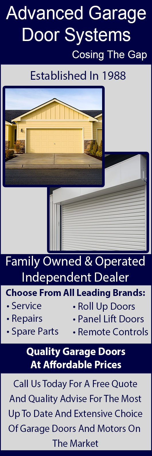 Advanced Garage Door Systems   Promotion