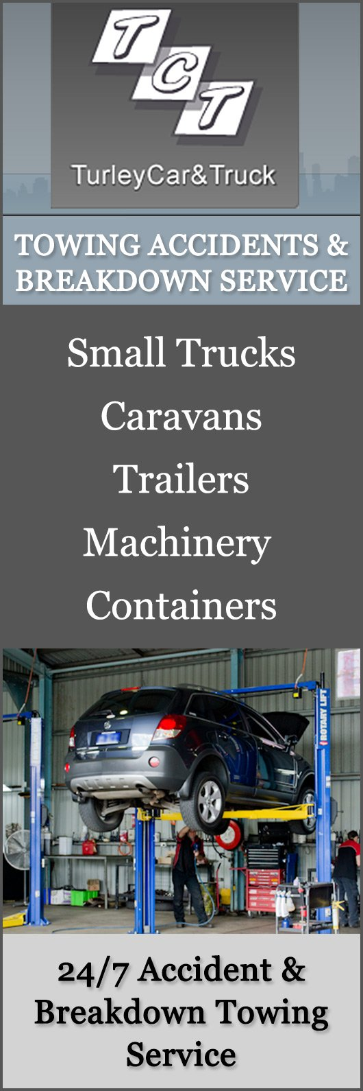 Turley Car & Truck - Towing Services - 11 Turley St - Ipswich