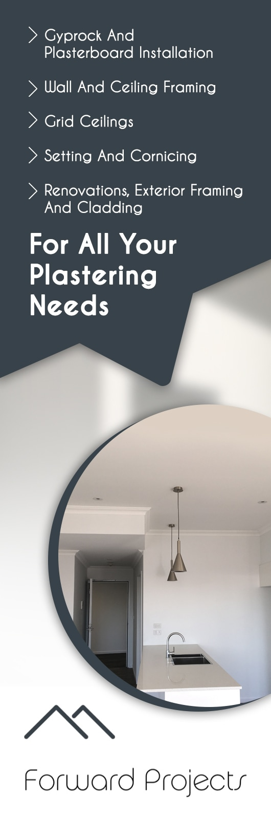 Forward Projects - Plasterers - Newcastle