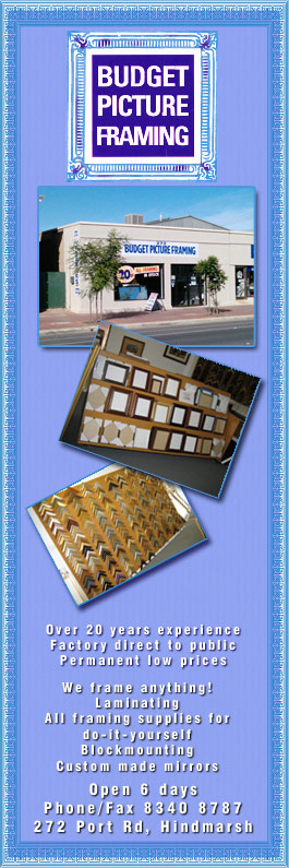Budget Picture Framers - Photo Frames & Picture Framing - 272 Port ...