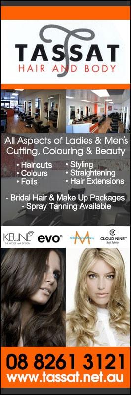 Tassat Hair And Body - Hairdressers - Shop 9 / 132 Muller Rd