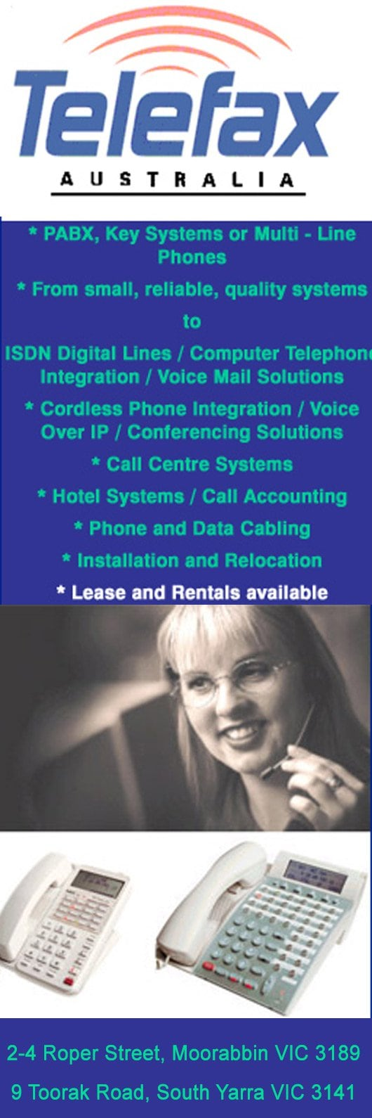 Telefax Australia - Telephone Installation, Repairs & Maintenance