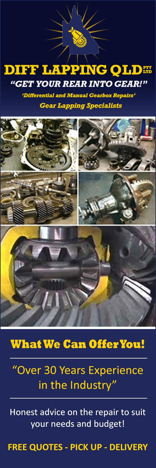 Diff Lapping (QLD) Pty Ltd - Car & Automotive Transmissions