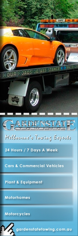 gardenstate towing pty ltd - towing services