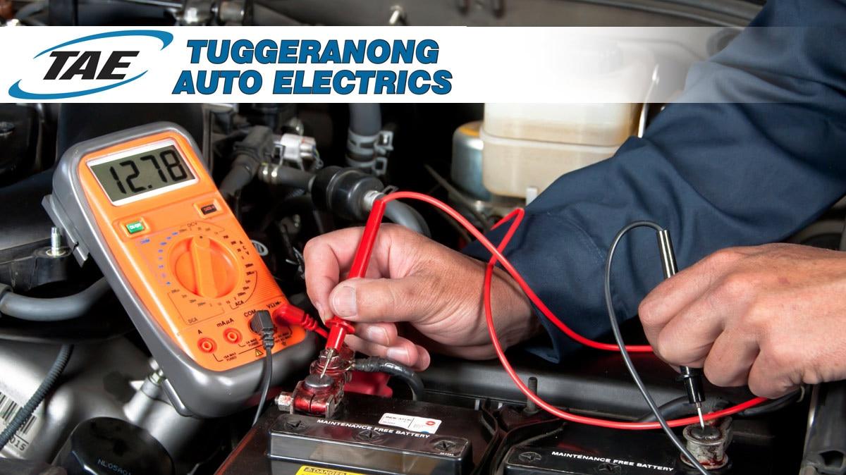 tuggeranong auto electrics auto electrician services greenway