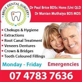Brice Dental Surgery Dentist 122 Beach Rd Ayr