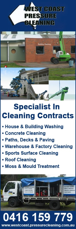 West Coast Pressure Cleaning - Pressure & Steam Cleaning