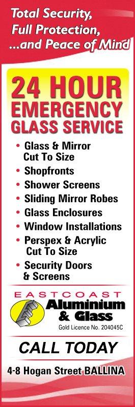 Eastcoast Aluminium & Glass - Security Doors, Windows & Equipment
