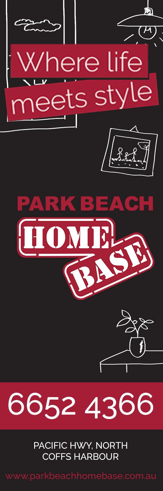 About park beach homebase