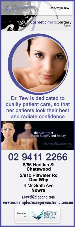 Tew Sawjin Dr - Cosmetic Surgery - 4 McGrath Ave - Nowra