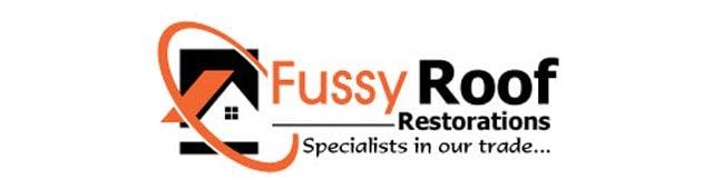 Fussy Roof Restoration   Logo