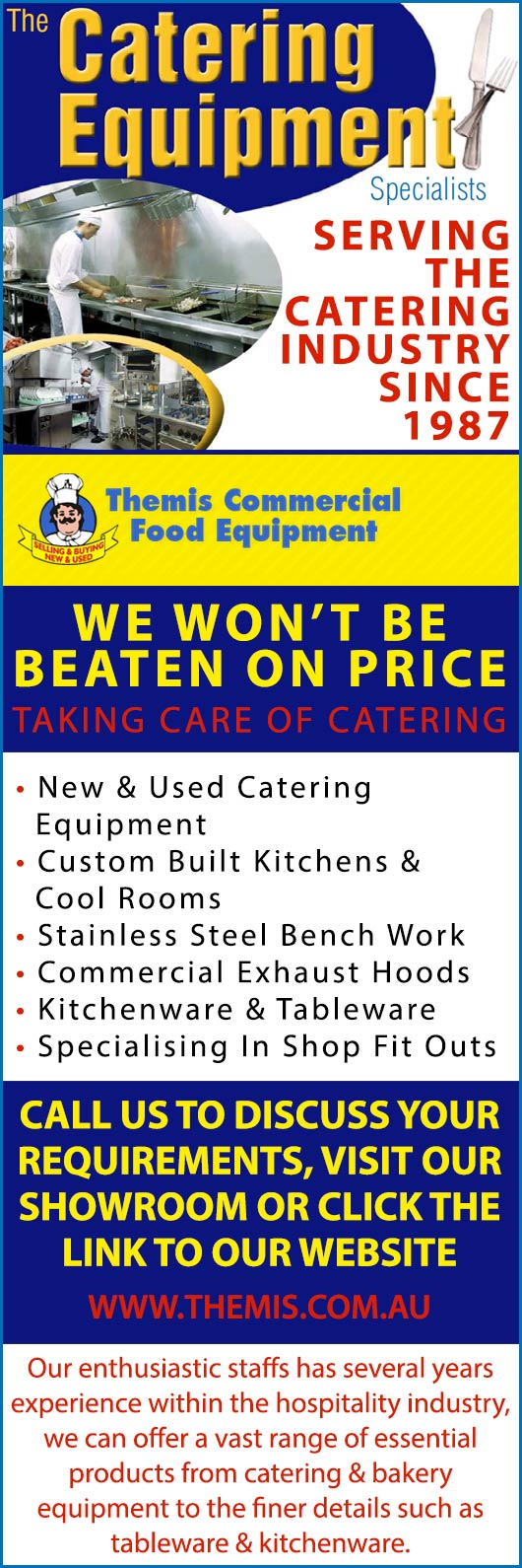 Themis Commercial Food Equipment - Catering Supplies - Nowra