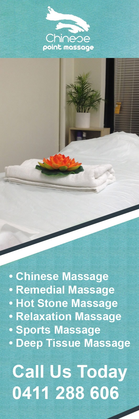 Chinese Point Massage - Promotion