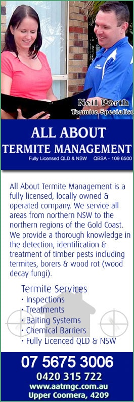 All About Termite Management Pest Control Upper Coomera